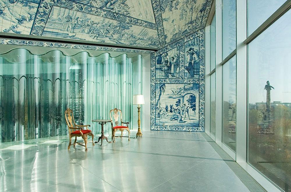 Casa da m sica invicta de azul e branco for Piscitelli casa de musica