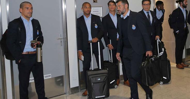 FC Porto já está em Monte Carlo, França