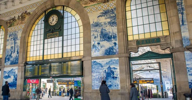 Mercado em S. Bento - Estação de São Bento