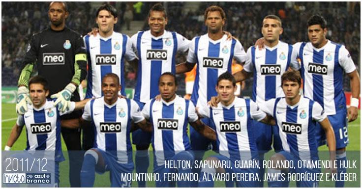 Plantel 2011-12 do FC Porto
