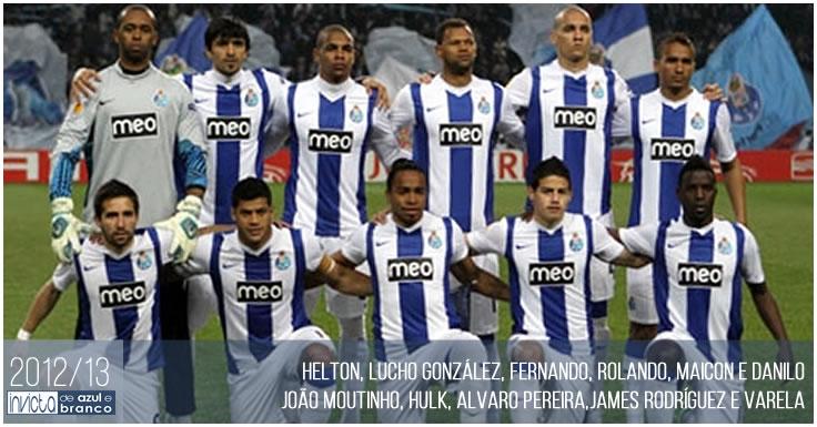 Plantel 2012-13 - FC Porto