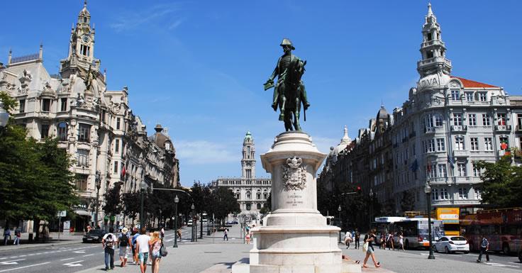 Praça da Liberdade - Porto