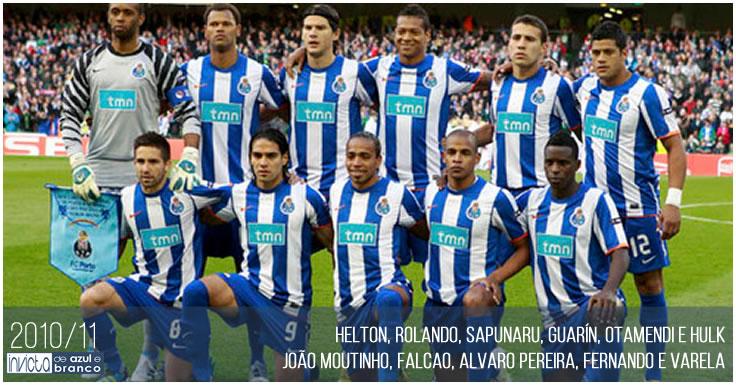 Plantel 2010-11 do FC Porto