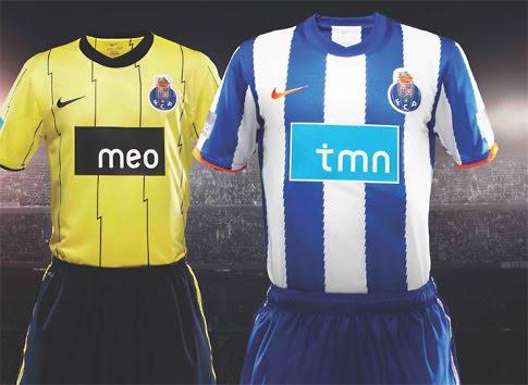 Equipamentos 2010-11 - FC Porto