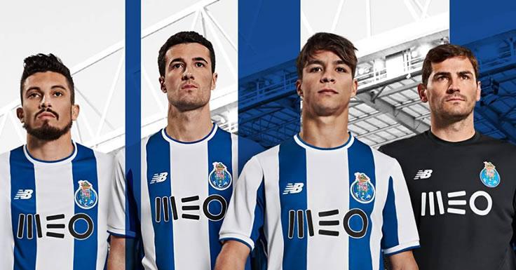 FC Porto - novos equipamento principal para 2017-18