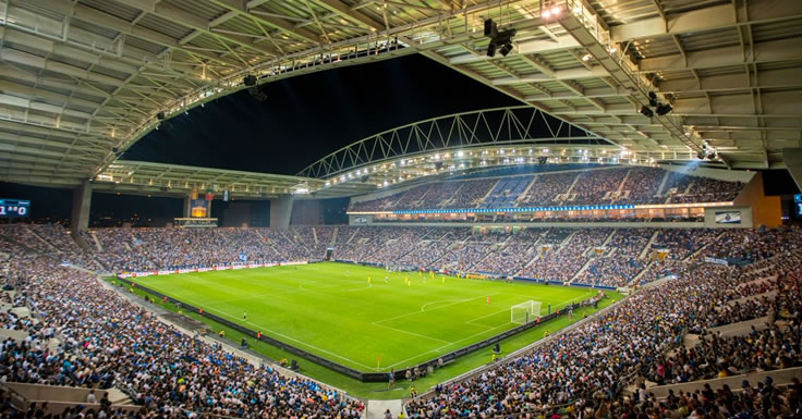 FC Porto - enchente - jogo de apresentação no Estádio do Dragão
