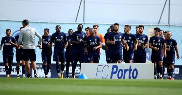 FC Porto treino 08-08-17