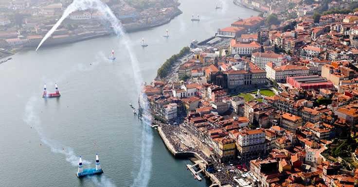 Red Bull Air Race no Porto