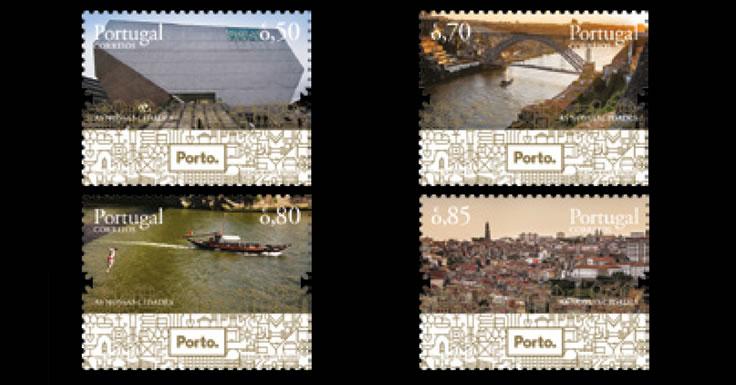 Cidade do Porto em quatro selos