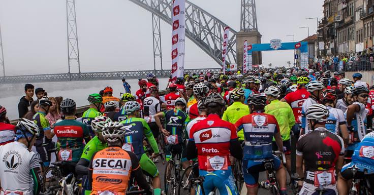 Prova de cicloturismo - margens do Douro