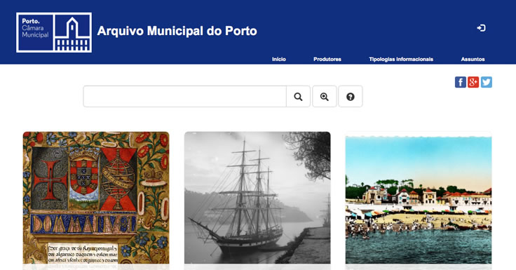 Arquivo Municipal do Porto Online