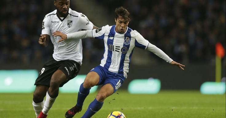 FC Porto-Vitória - reviravolta - liderança