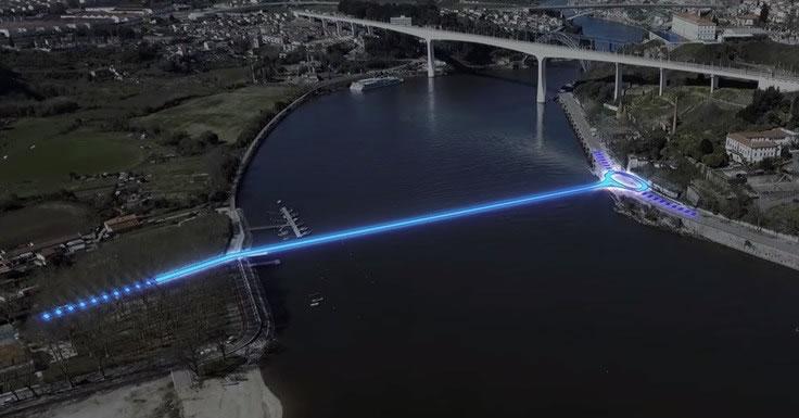 nova ponte sobre o Douro