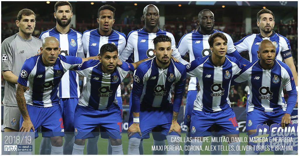 Plantel 2018-19 do FC Porto