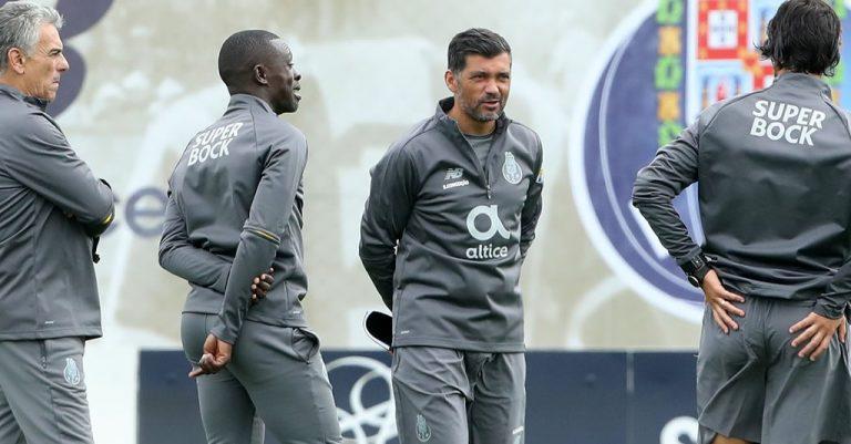 FC Porto - treino preparação