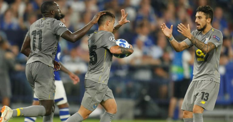 Schalke-FC Porto - Liga dos Campeões