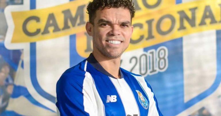 Pepe está de regresso ao FC Porto
