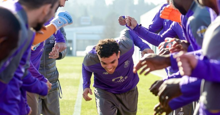 FC Porto - prepara o jogo - Pepe