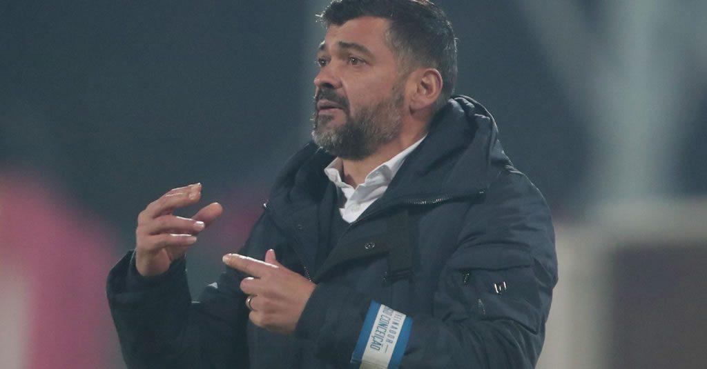 """Sérgio Conceição: """"prefiro ir a prolongamento e passar do que não ir e ser eliminado"""""""