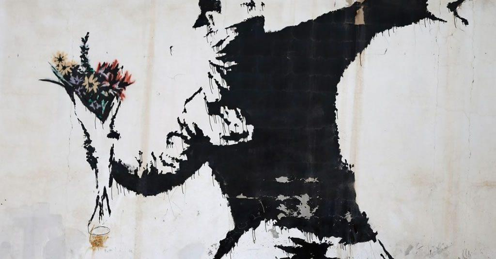 Mega exposição de Banksy na Alfândega do Porto
