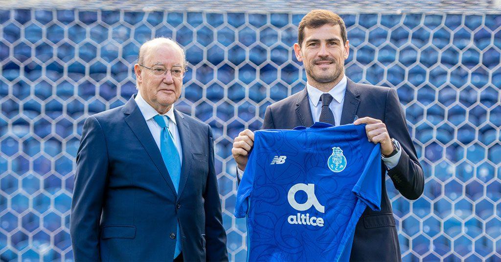 Iker Casillas é para manter na estrutura portista
