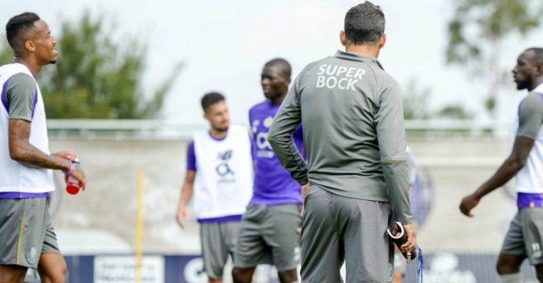 FC Porto - treino - receção ao Liverpool