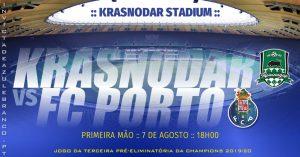 FC Krasnodar-FC Porto - Liga dos Campeões